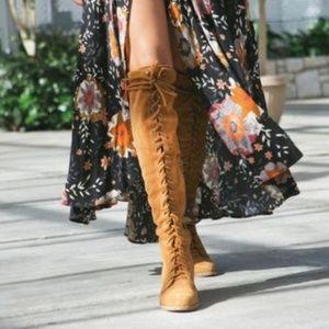 Jeffrey Campbell Joe mustard boots
